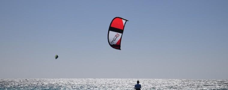 KiteOnWheels met Peter Lynn op Bonaire